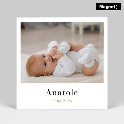 Faire-part naissance Photo instantané